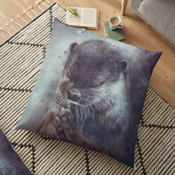 Holy Otter Floor Pillow