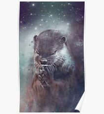 Holy Otter in space Poster