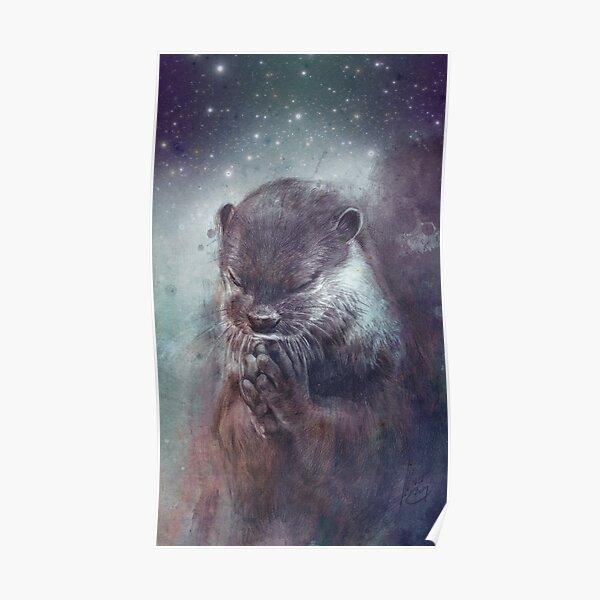 Holy Otter Poster