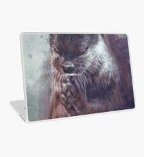 Meditierender Otter (farbig) Laptop Folie
