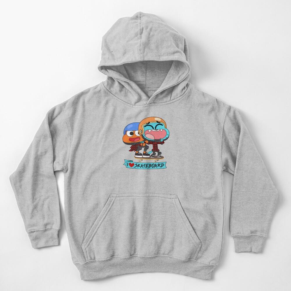 Gumball Darwin Skate Kids Pullover Hoodie