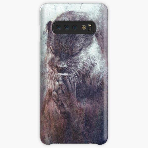 Meditating otter Samsung Galaxy Snap Case