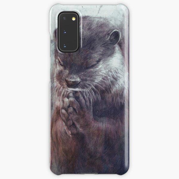 Meditierender Otter (farbig) Samsung Galaxy Leichte Hülle