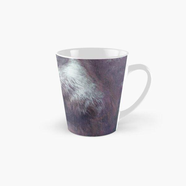 Meditierender Otter (farbig) Tasse (konisch)