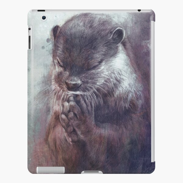 Meditating otter iPad Snap Case
