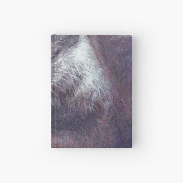 Meditating otter Hardcover Journal