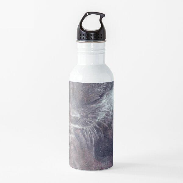 Meditating otter Water Bottle