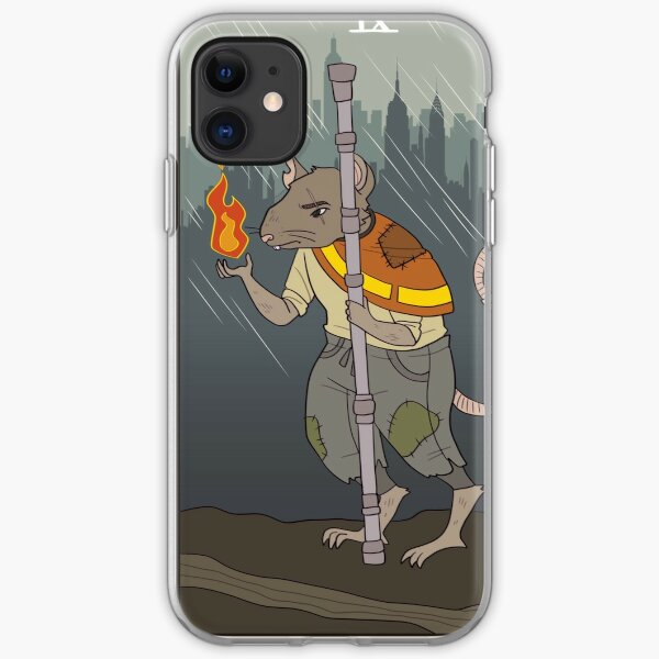 the hermit iPhone Soft Case