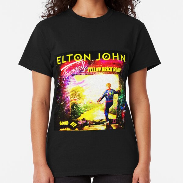 New Limited Merch T-shirt Elton John Farewell Brick Road Tour 2018 Pop Rock Lege