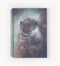 Holy Otter in space Spiralblock