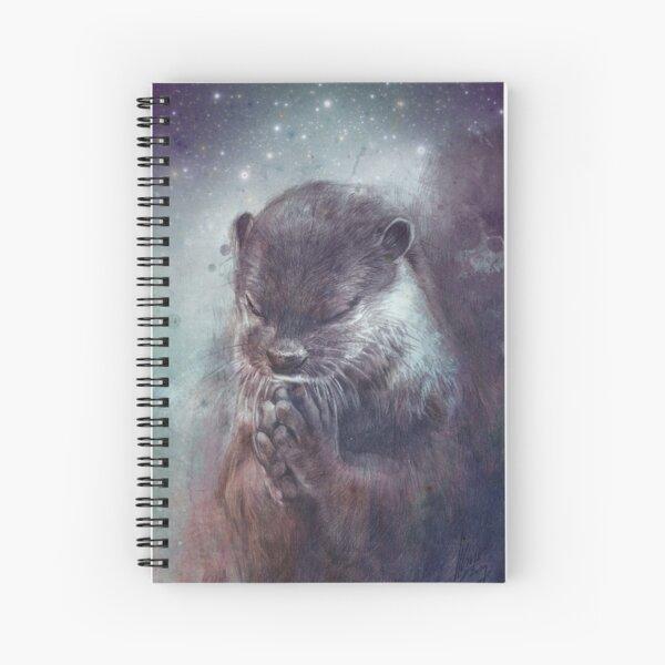 Holy Otter Spiral Notebook