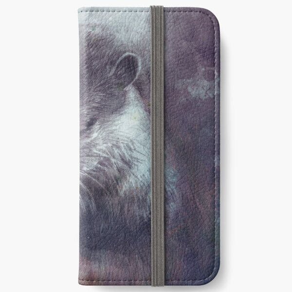 Holy Otter in space iPhone Flip-Case