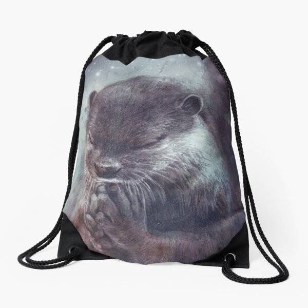 Holy Otter in space Turnbeutel