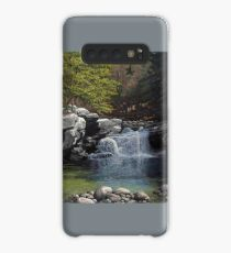 """Bartlett's Falls"" Bristol Vermont painting by Reed Prescott Case/Skin for Samsung Galaxy"