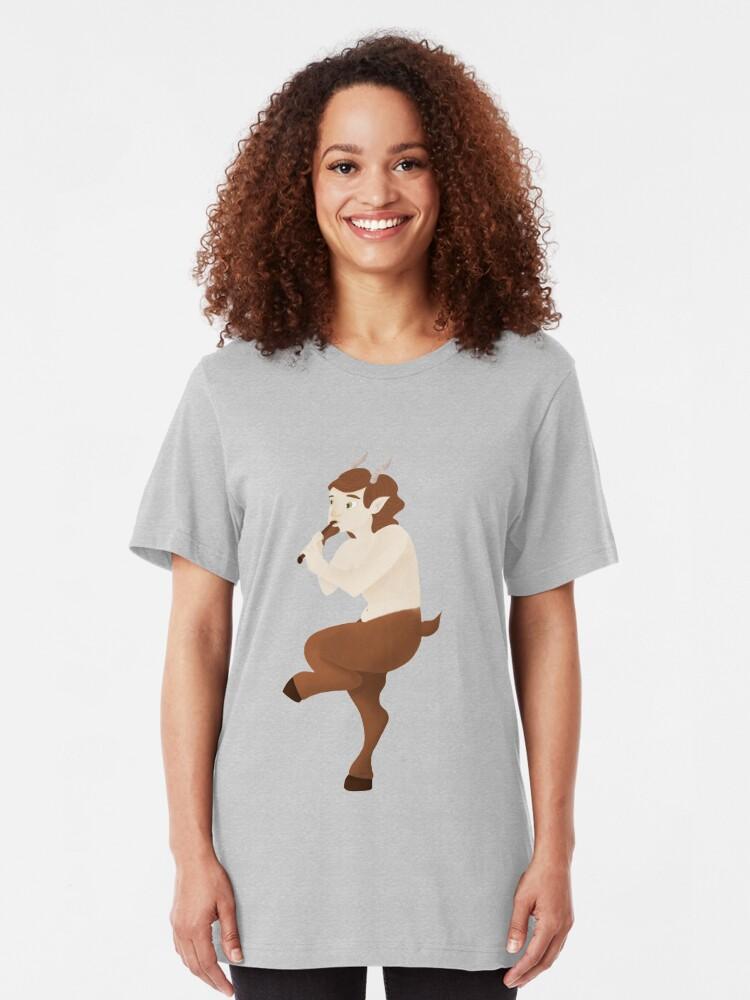 T-shirt ajusté ''Faune': autre vue