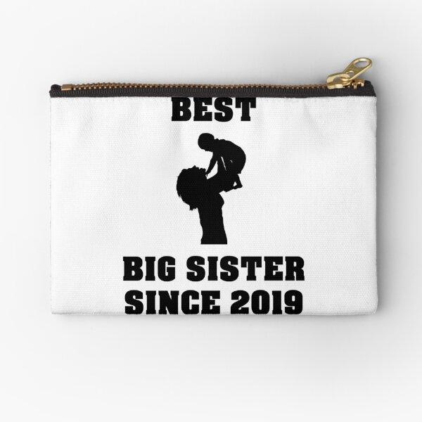 Best big sister since 2019 Gift ideas Zipper Pouch