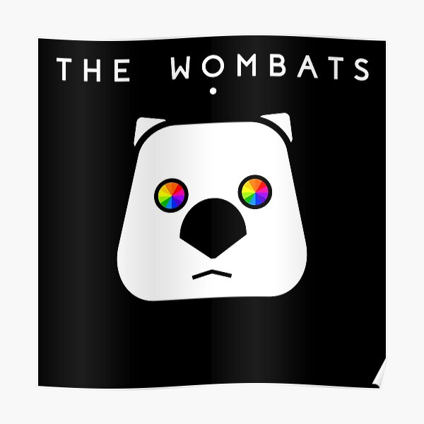 The Wombats ➤ Wombat drawing Poster