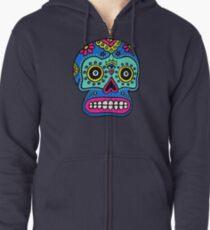 Mexican Skull Zipped Hoodie
