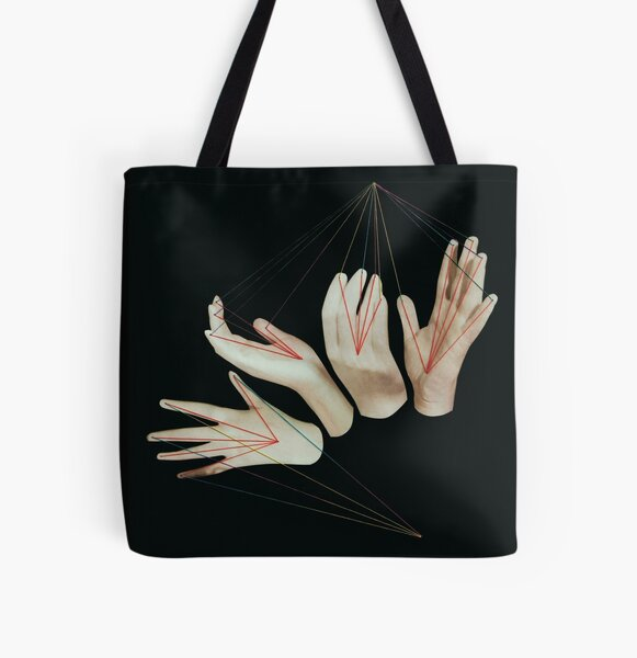 communication All Over Print Tote Bag