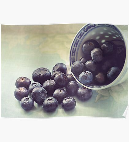 blueberries.. Poster