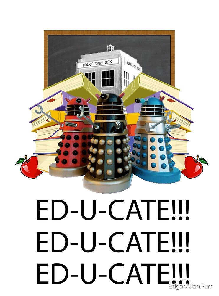 Educate not Exterminate  by EdgarAllanPurr