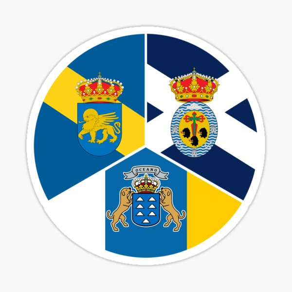 SANTA CRUZ DE TENERIFE SPAIN Street Sign Spaniard flag city country road gift