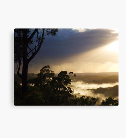 "'Approaching Rain"" Canvas Print"