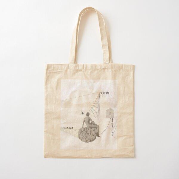 reset Cotton Tote Bag