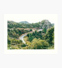 Gorges du Prunelli, Corsica - 2019 Art Print