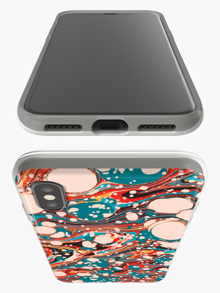 Alternate view of Psychedelic Marbled Paper Splash Blob Pepe Psyche iPhone Cases & Covers