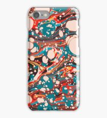 Psychedelic Marbled Paper Splash Blob Pepe Psyche iPhone Case/Skin