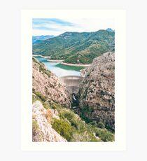 Gorges du Prunelli, Corsica Art Print