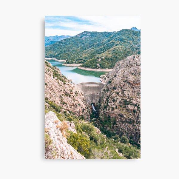 Gorges du Prunelli, Corsica Canvas Print