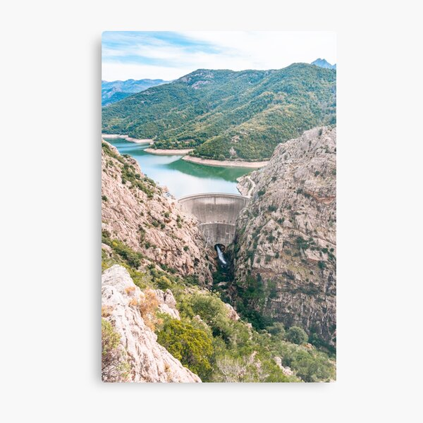 Gorges du Prunelli, Corsica Metal Print