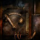 Steampunk - The Control Room  by Michael Savad