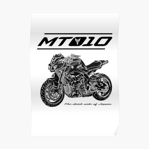 Yamaha MT-10 Design personnalisé Poster