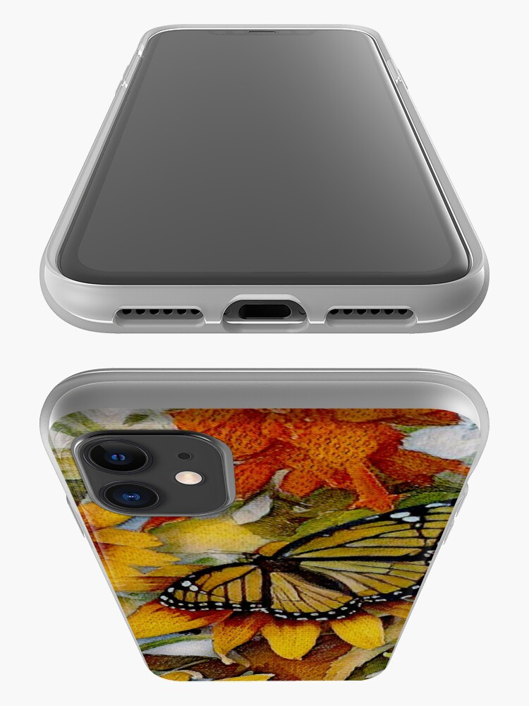 Alternate view of Art Show Monarch iPhone Case & Cover