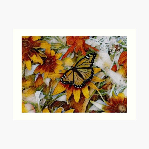 Art Show Monarch Art Print