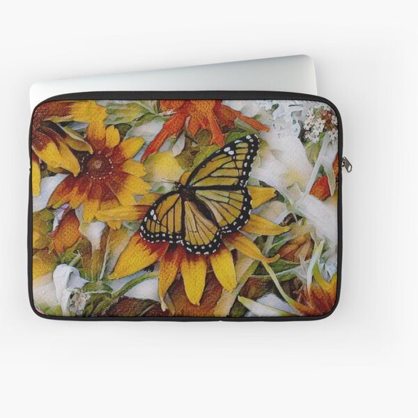 Art Show Monarch Laptop Sleeve