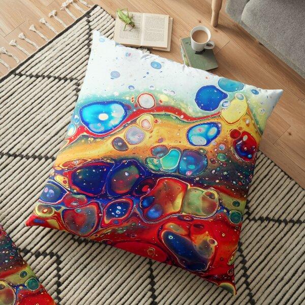 Burning Bubbles Floor Pillow