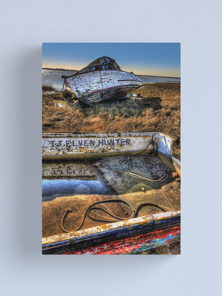 Alternate view of All Washed Up Canvas Print