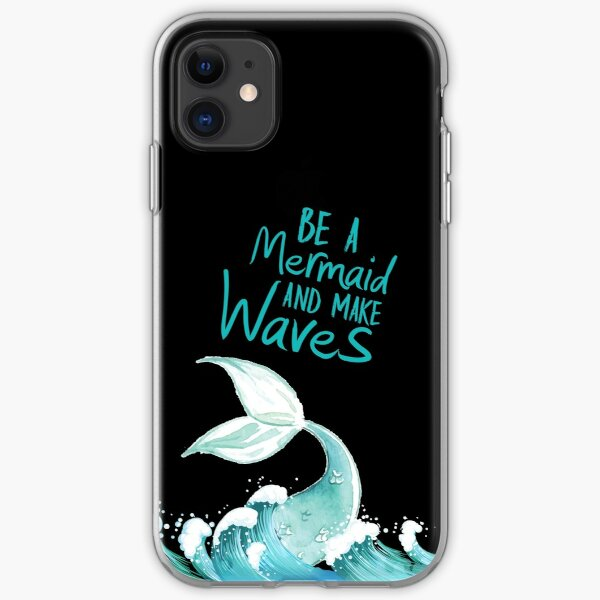 Be a mirmade and make waves! iPhone Soft Case