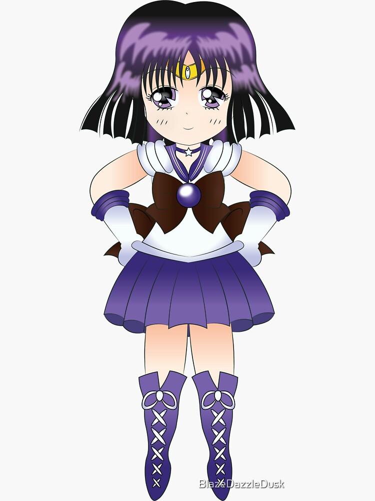 Sailor Saturn Chibi by BlazeDazzleDusk