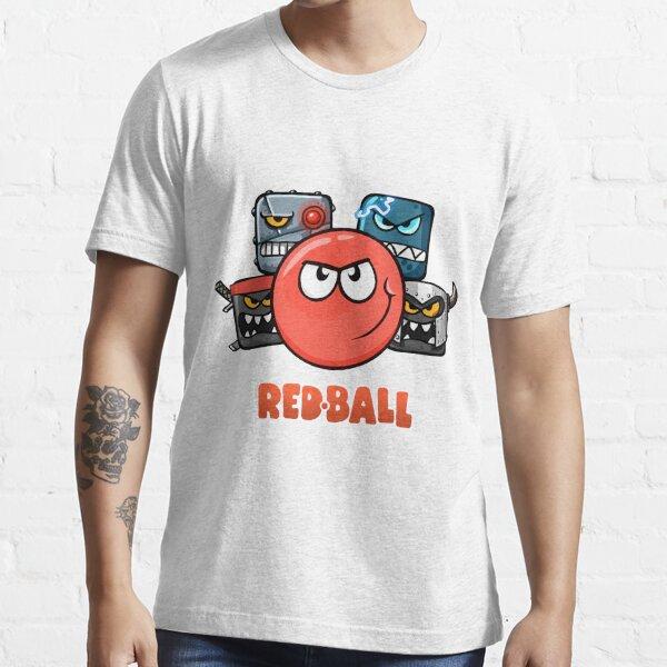 camiseta de emoji de red ball 4 the crew racing Camiseta esencial