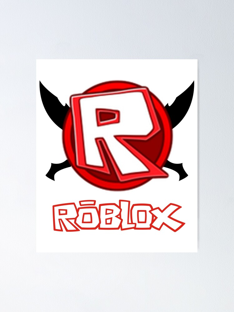 r logo roblox Roblox Logo Man S Short Sleeve Funny Gift For Friends Tee Top Friends Poster By Carolynsander Redbubble