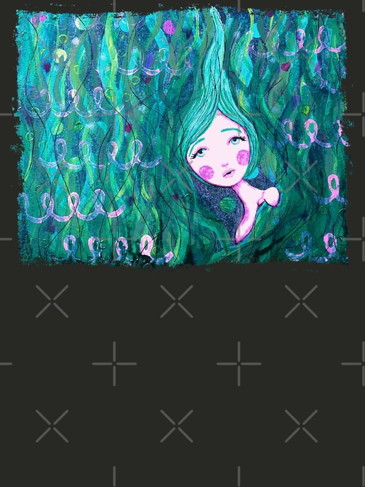 Shy Little Mermaid in the Seaweed by LittleMissTyne