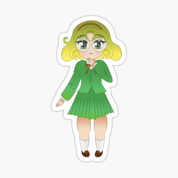 Fuu Houoji Magic Knight Rayearth Sticker
