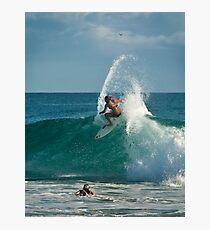 Carissa Moore - pre Roxy surfing Photographic Print