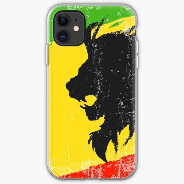 Raggae lion iPhone Soft Case