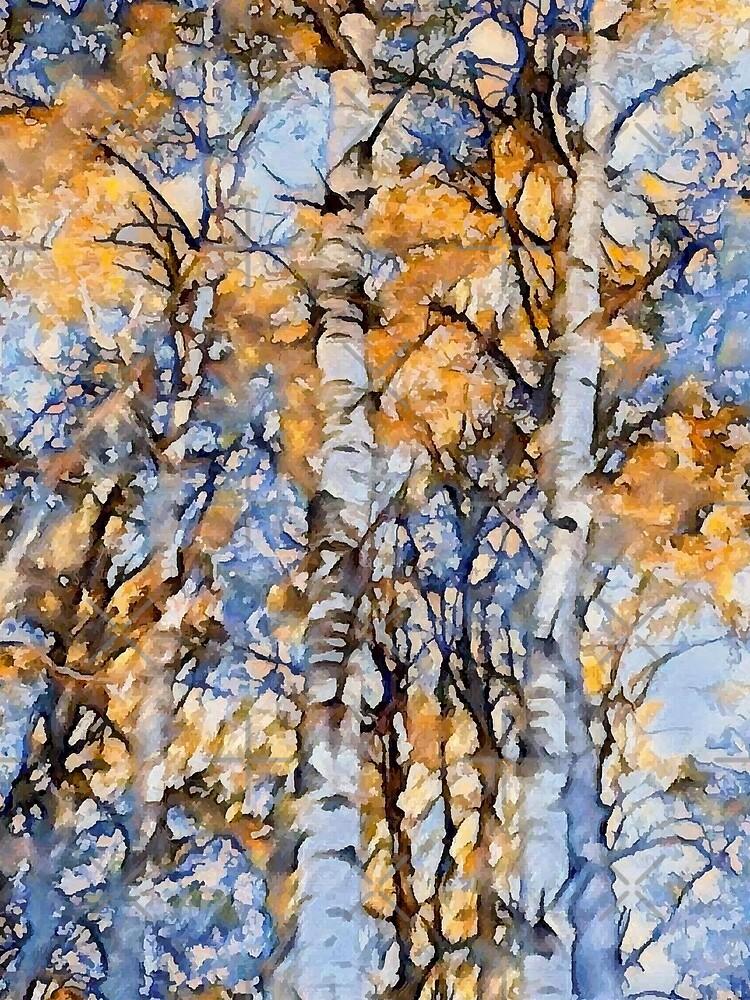 Autumn Birch by KarleighBon